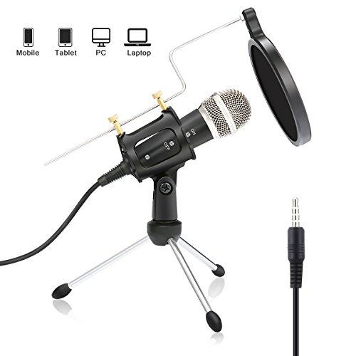 Offen Neewer 4-pack Nw b-3 6-zoll Studio Mikrofon Mic Runde Form Wind Pop Filter Mask Schild Mit Ständer Montage Clip Schwarz Filter